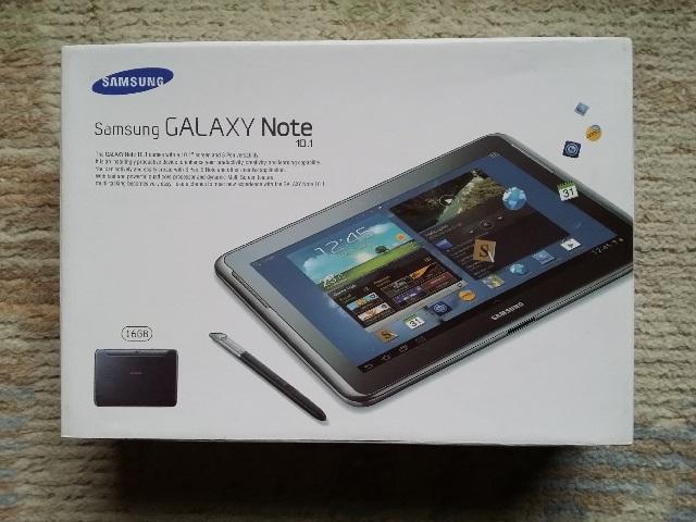 Galaxy Note 10.1(2012)開封の儀(外箱)