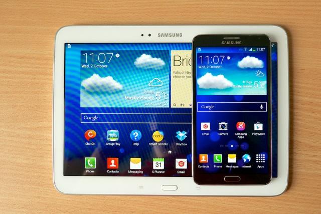 Galaxy Note 10.1、SM-P605のlollipop実装見送り