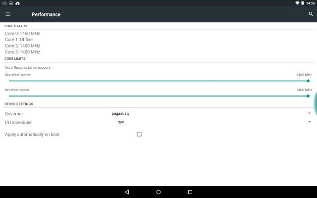Galaxy Note 10.1(2012)GT-N8013のlollipopカスタムROM4