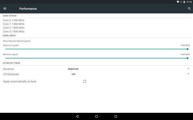 Galaxy Note 10.1のlollipopカスタムROM(OmniROM)4