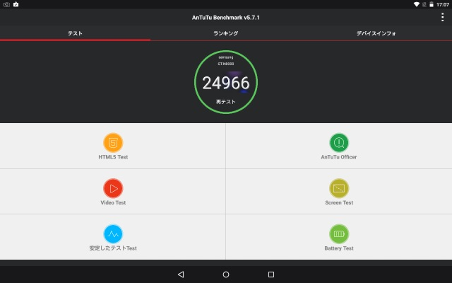 Galaxy Note 10.1のlollipopカスタムROM(OmniROM)5