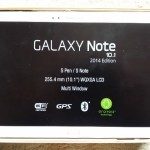Galaxy Note 10.1(2014)SM-P605開封の儀
