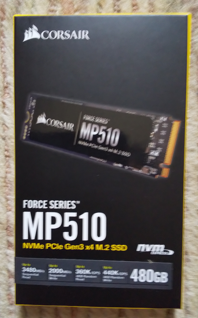 Corsair MP510の画像